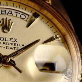 RO645F Rolex Day Date 18ct Close 5