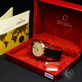 OM19632S Omega Vintage 9ct Gents Dress Watch Box