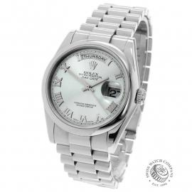 RO21951S Rolex Day-Date Platinum Back