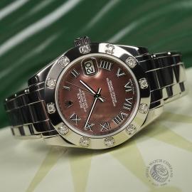RO22303S Rolex Ladies Pearlmaster Close 8