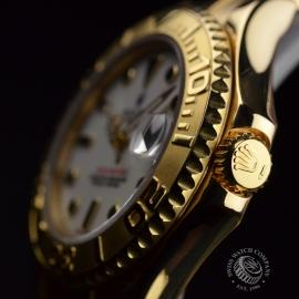RO21031S Rolex Yachtmaster Mid Size 18ct Close3