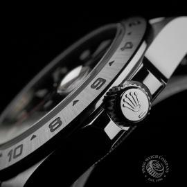 RO22408S Rolex Explorer II Orange Hand Close7