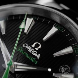 OM22415S Omega Seamaster Aqua Terra Golf Edition Close3