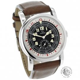 OM21673S Omega Museum Collection 1938 Pilots Watch Dial