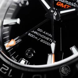 OM21785S Omega Seamaster Planet Ocean Co-Axial GMT Close4 1