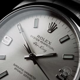 RO21432S Rolex Air King Close5 1