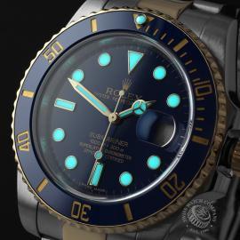 RO22037S Rolex Submariner Date Close1