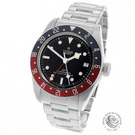TU21630S Tudor Black Bay GMT Pepsi Bezel Back