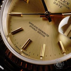 RO21991S Rolex Oyster Perpetual Date Close4 1
