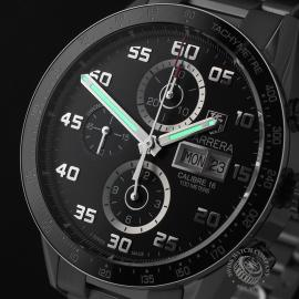 TA21988S Tag Heuer Carrera Calibre 16 Day-Date Chrono Close1