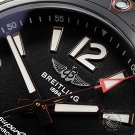 BR22775S Breitling Superocean 46 Blacksteel Close4