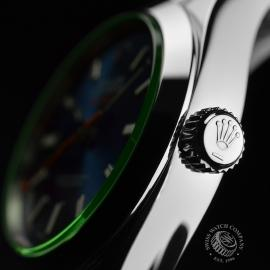 RO21189S Rolex Milgauss Anniversary - Green Glass Close3