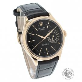 21396S Rolex Cellini Date 18ct Everose Dial 3