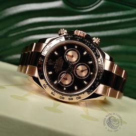 RO22074S Rolex Daytona Everose Gold Close10