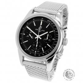 BR22078S Breitling Transocean Chronograph Back