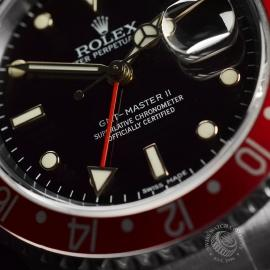 RO20324S Rolex GMT Master II - Stick Dial Close9