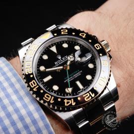 RO22141S Rolex GMT-Master II Ceramic Wrist 1