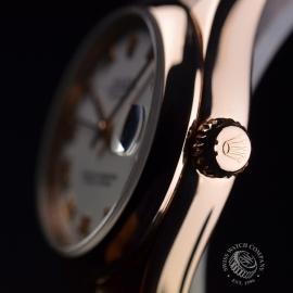 RO1852P Rolex Ladies Datejust 18ct Close3
