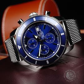 BR21864S Breitling Superocean Heritage 46 Chronograph Close10