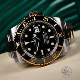 RO22266S Rolex Submariner Date Close 8