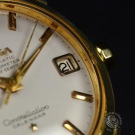 Vintage Omega Constellation 18ct Close9