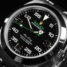 RO22395S Rolex Air King Close 2