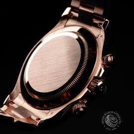 RO22074S Rolex Daytona Everose Gold Close9