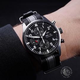 IW21663S IWC Pilots Chronograph Wrist 1