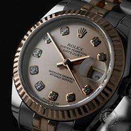RO22737S Rolex Ladies Datejust Close2