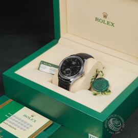 RO22753S Rolex Cellini Dual Time Box