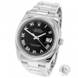 RO21978S Rolex Datejust 36 Back