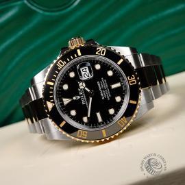 RO21980S Rolex Submariner Date Unworn Close10