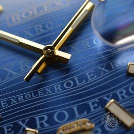 RO1816P Rolex Datejust 18ct Close10