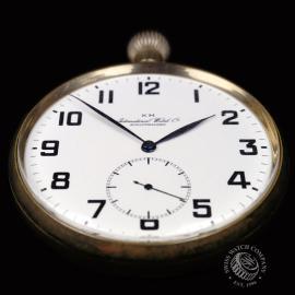 IW844F IWC Vintage 'Kriegsmarine' Pocketwatch Close8