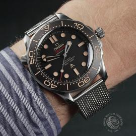 OM22513S Omega Seamaster 300M '007 Edition' Unworn Wrist