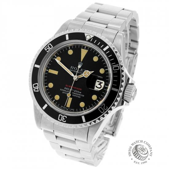 Rolex Vintage Submariner Date 'Single Red'