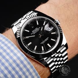 RO21961S Rolex Datejust 41 Unworn Wrist