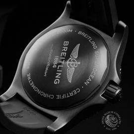 BR22775S Breitling Superocean 46 Blacksteel Close10