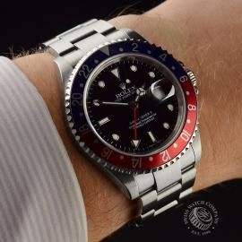 RO20324S Rolex GMT Master II - Stick Dial Wrist 1