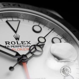RO22284S Rolex Explorer II Orange Hand Close5