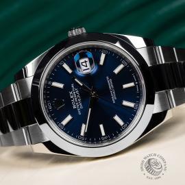 RO22076S Rolex Datejust 41 Unworn Close10