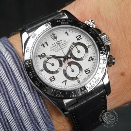 RO22609S Rolex Cosmograph Daytona 'White Gold' Wrist