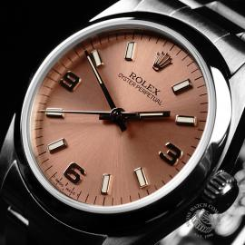 RO21830S Rolex Mid Size Oyster Perpetual Close2 1