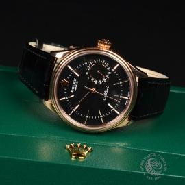 21396S Rolex Cellini Date 18ct Everose Close10 3
