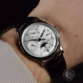 21383S Jaeger LeCoultre Master Control Perpetual Calendar  Wrist