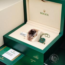 RO221147S Rolex Day-Date 40 Everose Diamond Box