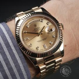 RO22541S Rolex Day-Date II 18ct Wrist