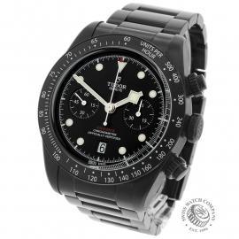 TU22227S Tudor Heritage Black Bay Chronograph Dark Back