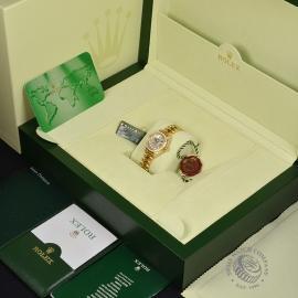 RO21016S Rolex Ladies Datejust 18ct Box