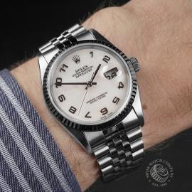 RO22548S Rolex Datejust 36 Wrist